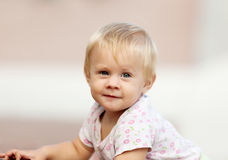 Ourfoor portrait of  toddler Stock Images