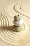 Ouriço-do-mar na areia Imagens de Stock Royalty Free