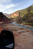 Ourika roads Royalty Free Stock Images
