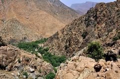 Ourika Valley in Morocco Stock Photography