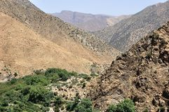 Ourika Valley in Morocco Stock Photos