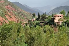 Ourika Valley in Morocco Stock Image