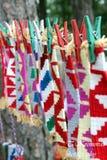 Ournaments búlgaros imagens de stock