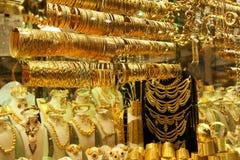 Ouro árabe Imagens de Stock Royalty Free