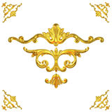 Ouro antigo Fotografia de Stock Royalty Free