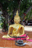 Ouro Buddha fotos de stock royalty free