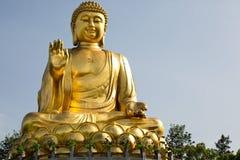 Ouro Buddha Foto de Stock