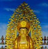 Ouro Buddha imagem de stock royalty free