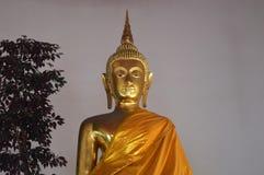 Ouro Buddha Fotografia de Stock Royalty Free