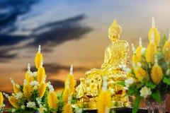 Ouro Buddha Fotografia de Stock