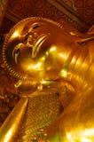 Ouro Buddha em Tailândia Fotografia de Stock