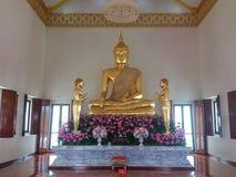 Ouro Buddharupa Foto de Stock Royalty Free