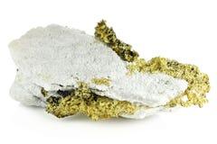 Ouro cristalino imagem de stock royalty free