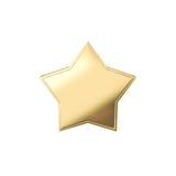 Ouro da estrela Foto de Stock Royalty Free