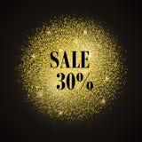 Ouro da venda Imagens de Stock Royalty Free