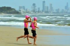 Ouro de Coolangatta Queensland 2014 Austrália Foto de Stock