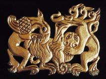 Ouro de Scythian imagem de stock royalty free