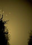 Ouro do arrasto da tinta Imagem de Stock