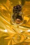 Ouro do chocolate Fotografia de Stock Royalty Free