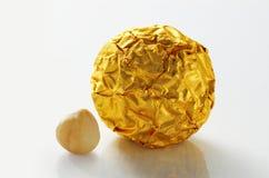 Ouro do chocolate Fotografia de Stock