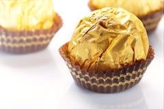 Ouro do chocolate Imagem de Stock