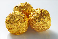 Ouro do chocolate Foto de Stock Royalty Free