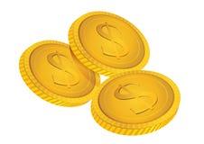 Ouro do negócio Fotografia de Stock Royalty Free