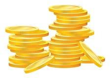 Ouro do negócio Imagem de Stock