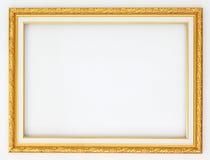 Ouro do quadro Fotografia de Stock
