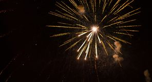 Ouro dos fogos-de-artifício Ano novo filme