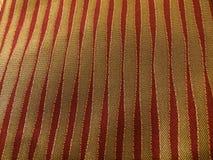 Ouro e listras vermelhas Imagem de Stock Royalty Free