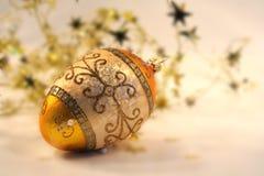 Ouro e sparkling Imagens de Stock