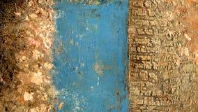 Ouro e textura azul imagem de stock