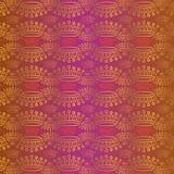 Ouro e vermelho da coroa do vetor Imagem de Stock Royalty Free