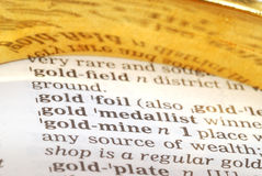 Ouro-escavador imagens de stock