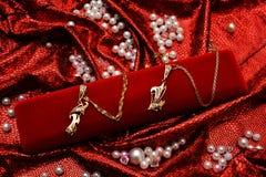 Ouro exclusivo L&F Imagem de Stock