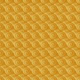Ouro infinito da quadriculação Fotografia de Stock
