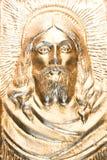 Ouro Jesus imagens de stock royalty free
