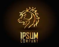 Ouro Logo Vetora Foto de Stock