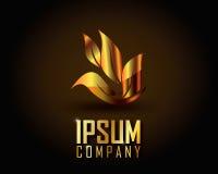 Ouro Logo Vetora Fotos de Stock