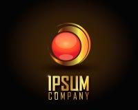 Ouro Logo Vetora Fotos de Stock Royalty Free