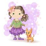 Ouro louro 1 da menina Foto de Stock Royalty Free