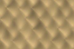 Ouro ou superfície escovada mão do bronze Foto de Stock