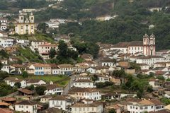 Ouro Preto Royalty Free Stock Photo