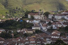 Ouro Preto Royalty Free Stock Photography