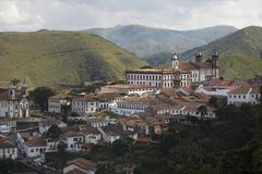 Ouro Preto. The baroque city of Ouro Preto Royalty Free Stock Photo