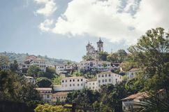 Ouro Preto 免版税库存图片