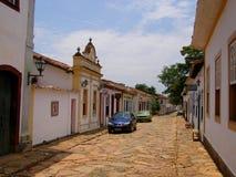 Ouro Preto, Brazil. November 10 th 2016. Street in the famous of historical town Ouro Preto Minas Gerais stock photography