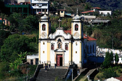 Ouro Preto church Minas Gerais Brazil Stock Photos