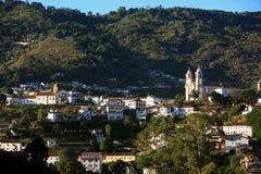Ouro preto cityscape minas gerais brazil Royalty Free Stock Image
